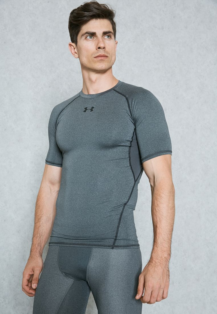 UNDER ARMOUR//HeatGear Compression T-Shirt//149 AED/SAR