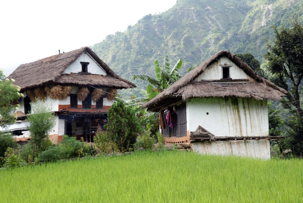 Village houses