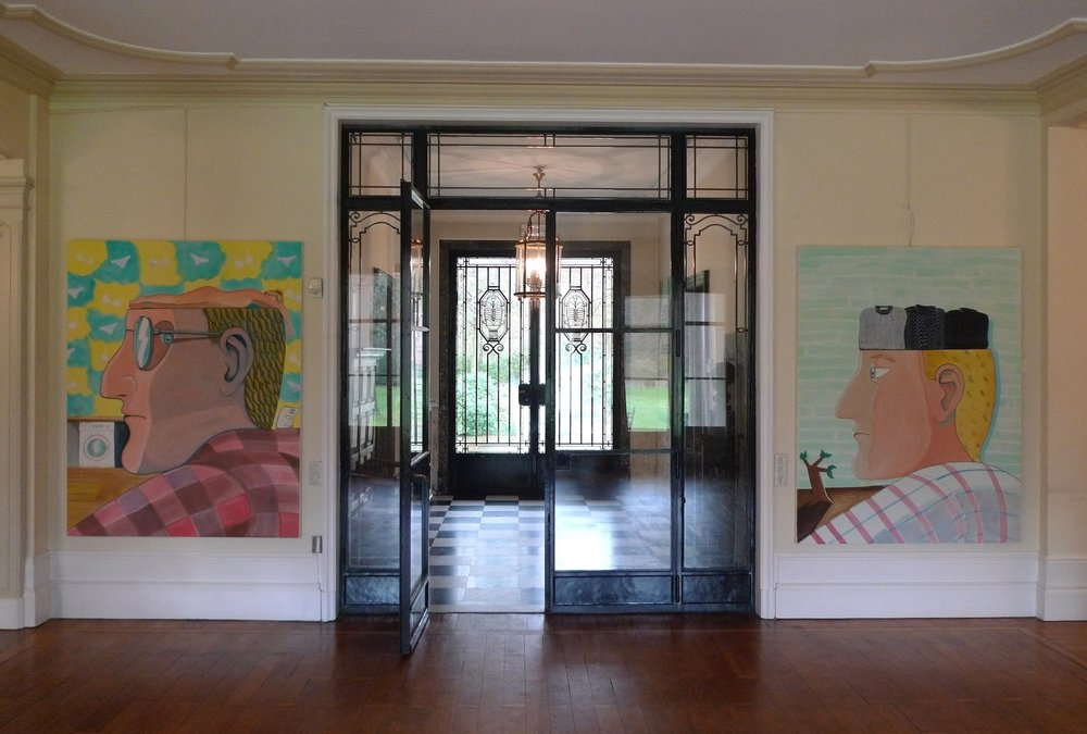 Installation View, Recent Paintings, Wolvenbosch, 2015