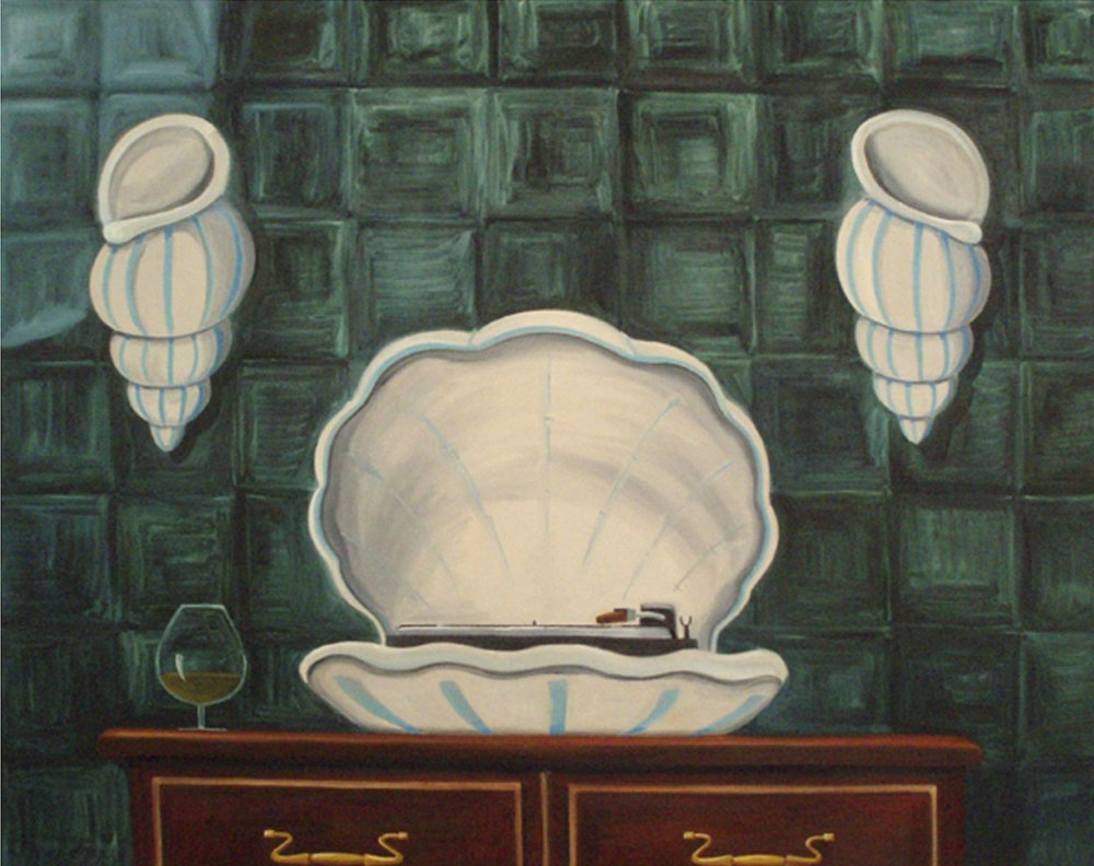 The Captain's Song  2007 Oil on Canvas, 105 x 134 cm  Private Collection
