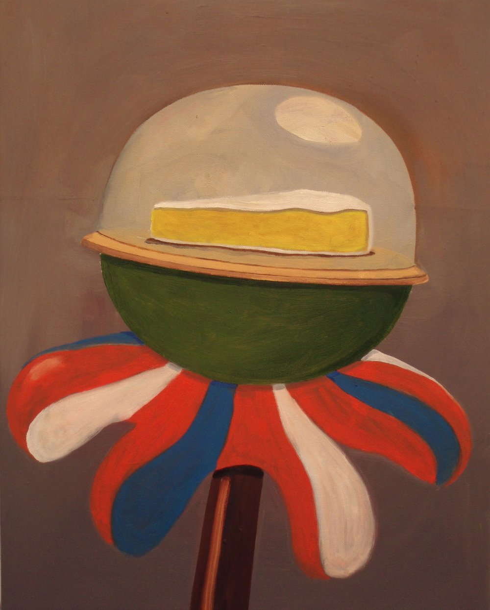 Sceptre  2008 Oil on Canvas, 50.5 x 40.5 cm