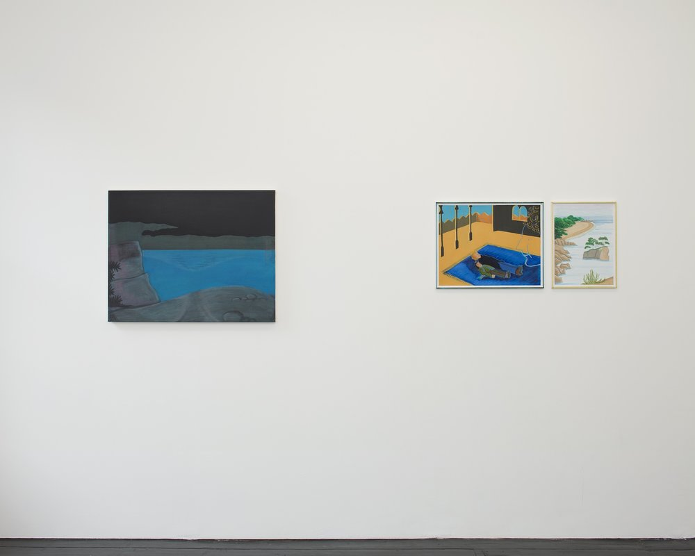 Installation view,   Life at Sea  , Southard Reid,   2012