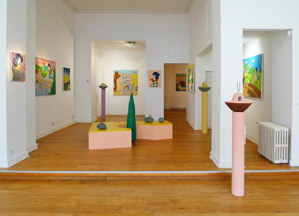 Terroir 1 alec kronacker exhibition painting sculpture