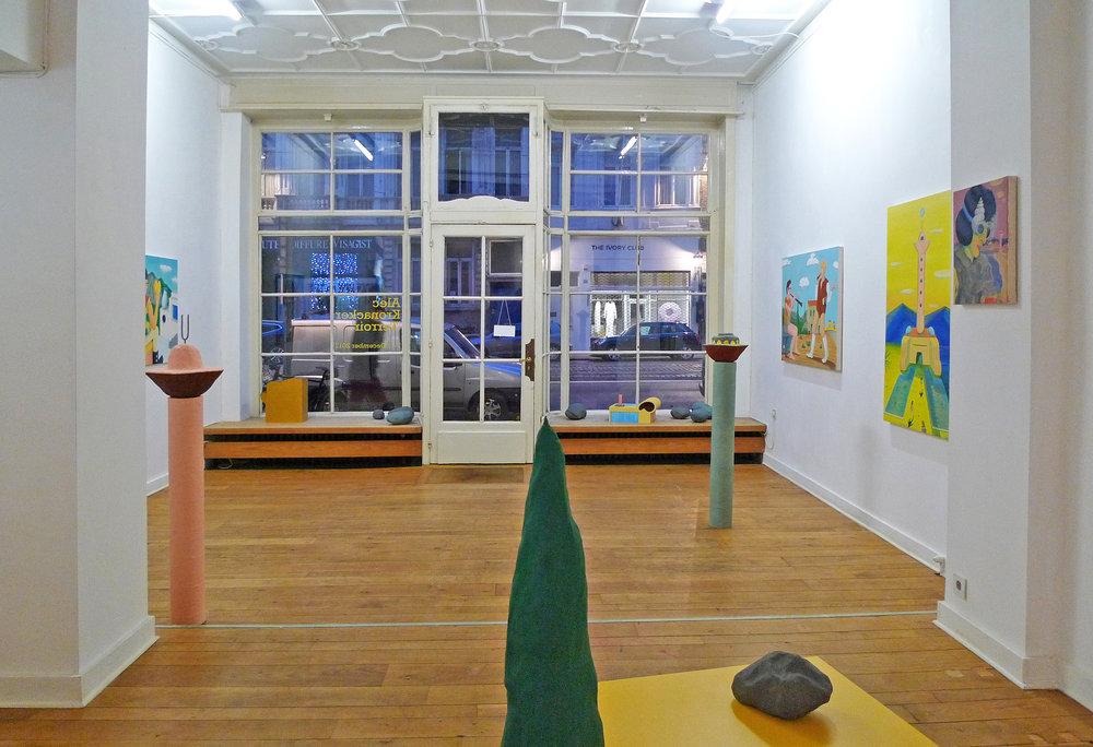 Terroir alec kronacker exhibition art painting sculpture