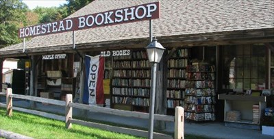 Marlborough, NH now defunct Homestead Bookshop offered classic and antique books for more than 30 years.