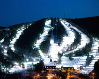 Henniker is home of  Pat's Peak  ski area, is in the south.