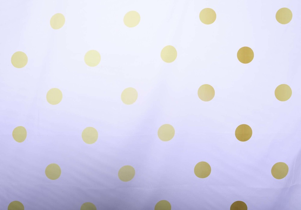 Copy of GOLD POLKA DOTS
