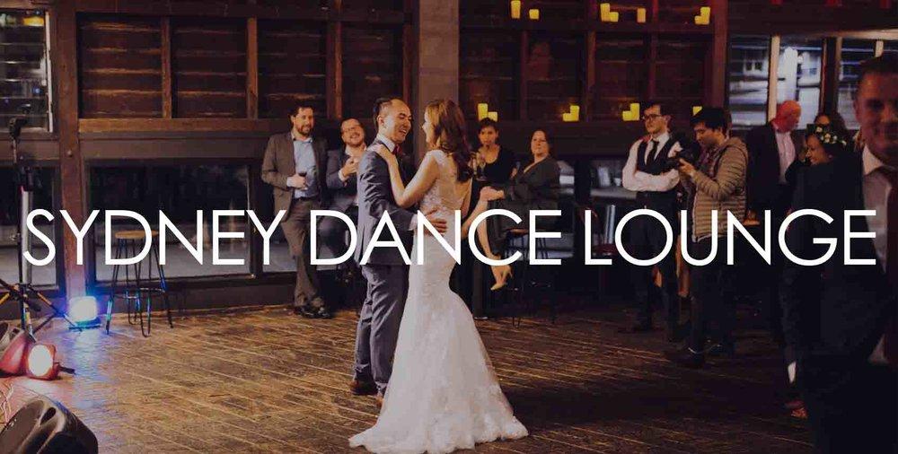 Sydney Dance Lounge Weddings