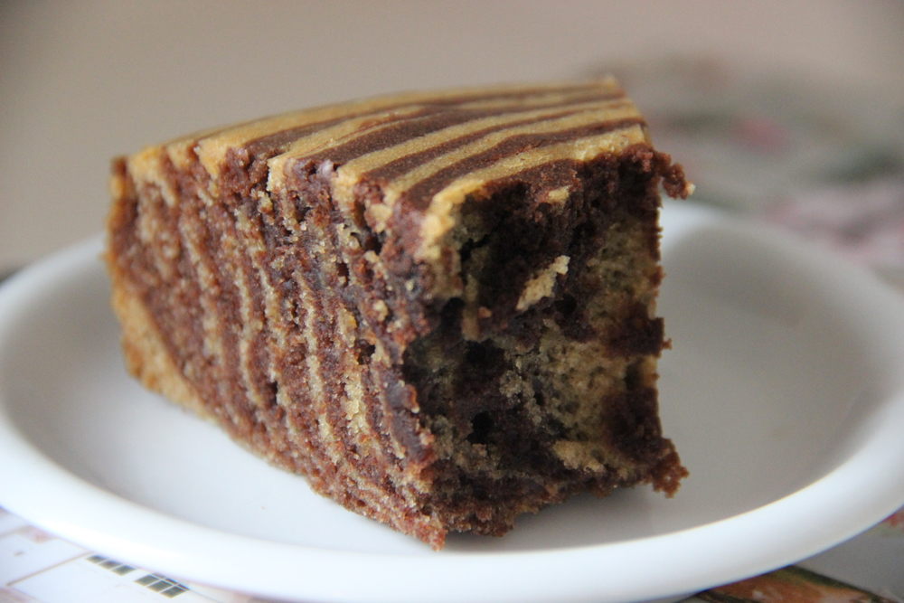 Zebra Cake Chocolat / Vanille