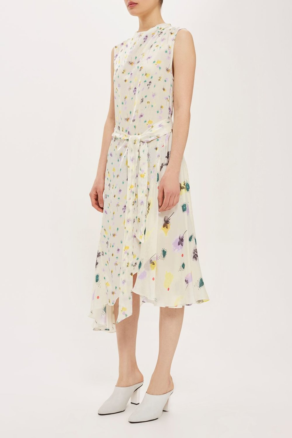 Ditsy Ink Dress by Boutique - Topshop  £95