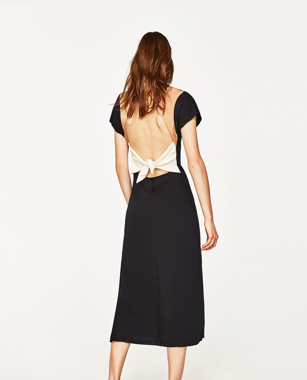 Long Dress with Knotted Back - Zara £29.99