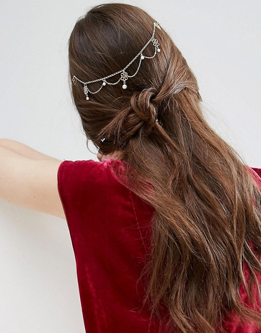 Filigree Back Hair Crown - ASOS  £8