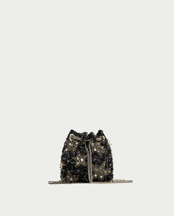 Beaded stars crossbody - zara £39.99