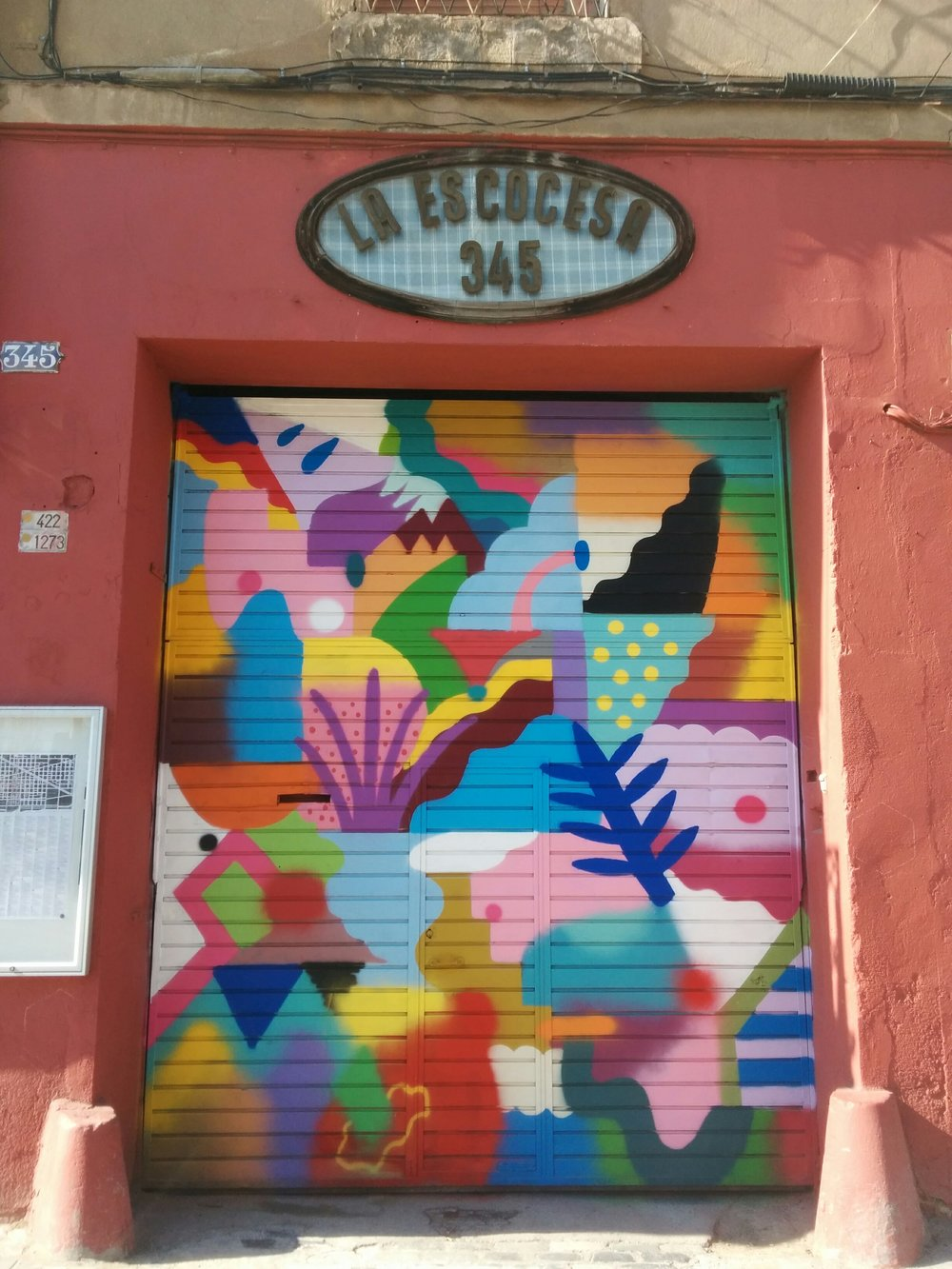 Door to La Escocesa