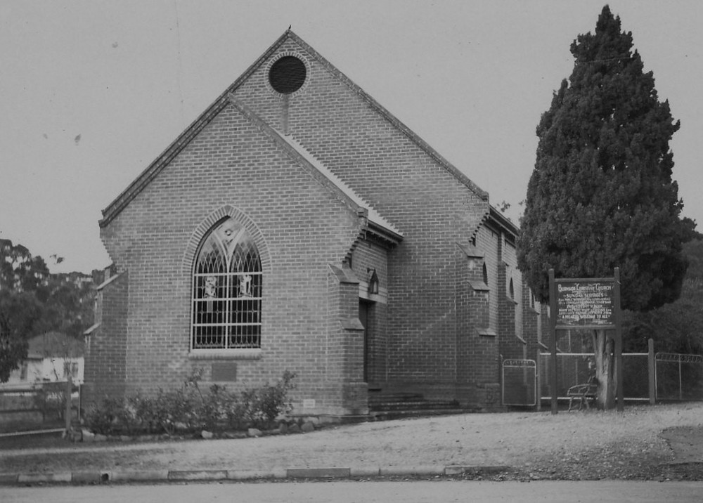 Completed 1939 church building