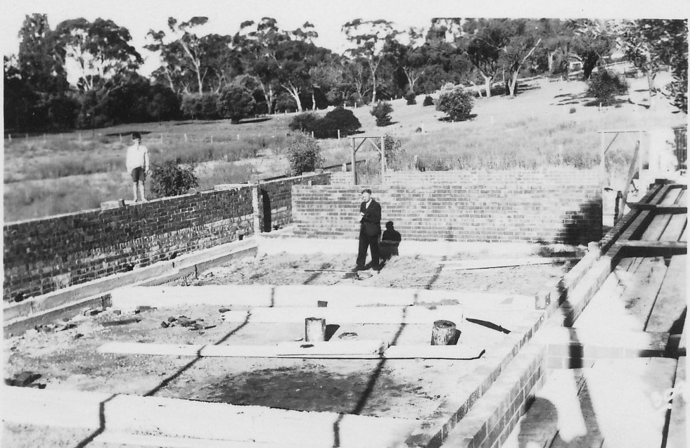 1939 church building foundations