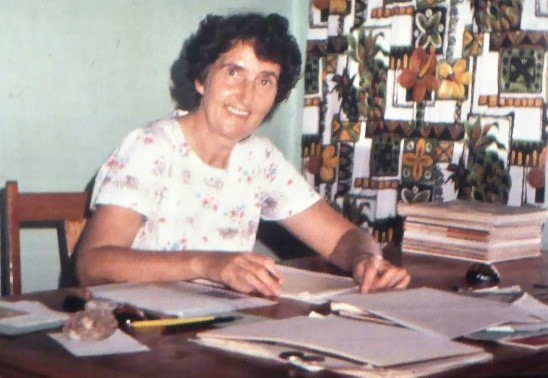 Dorothea in her office at One Pusu