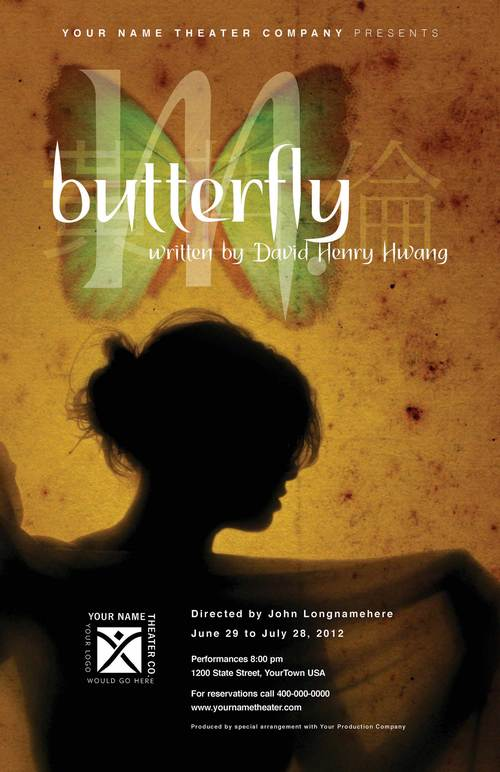 Mbutterfly Play Drama Dramaqueen Theater Publicity