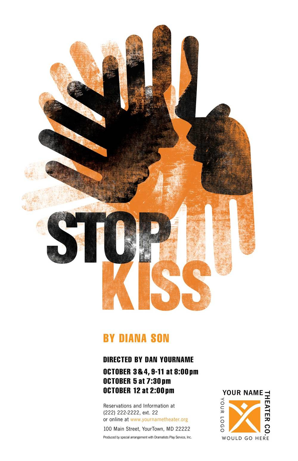 a review of stop kiss a play by diana son Diana son is the author of the plays stop kiss, satellites, boy, raw ('cause i'm a woman) and others stop kiss and satellites premiered at the public theater in nyc.