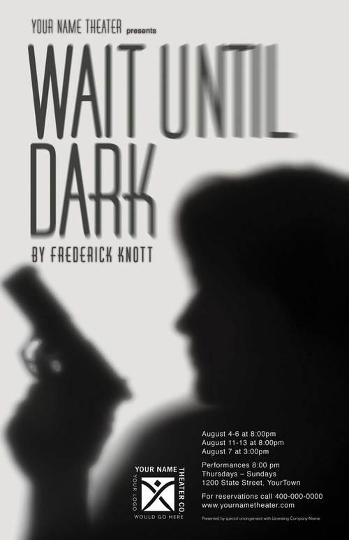 Wait Unitl Dark Play Mystery Drama Dramaqueen Theater