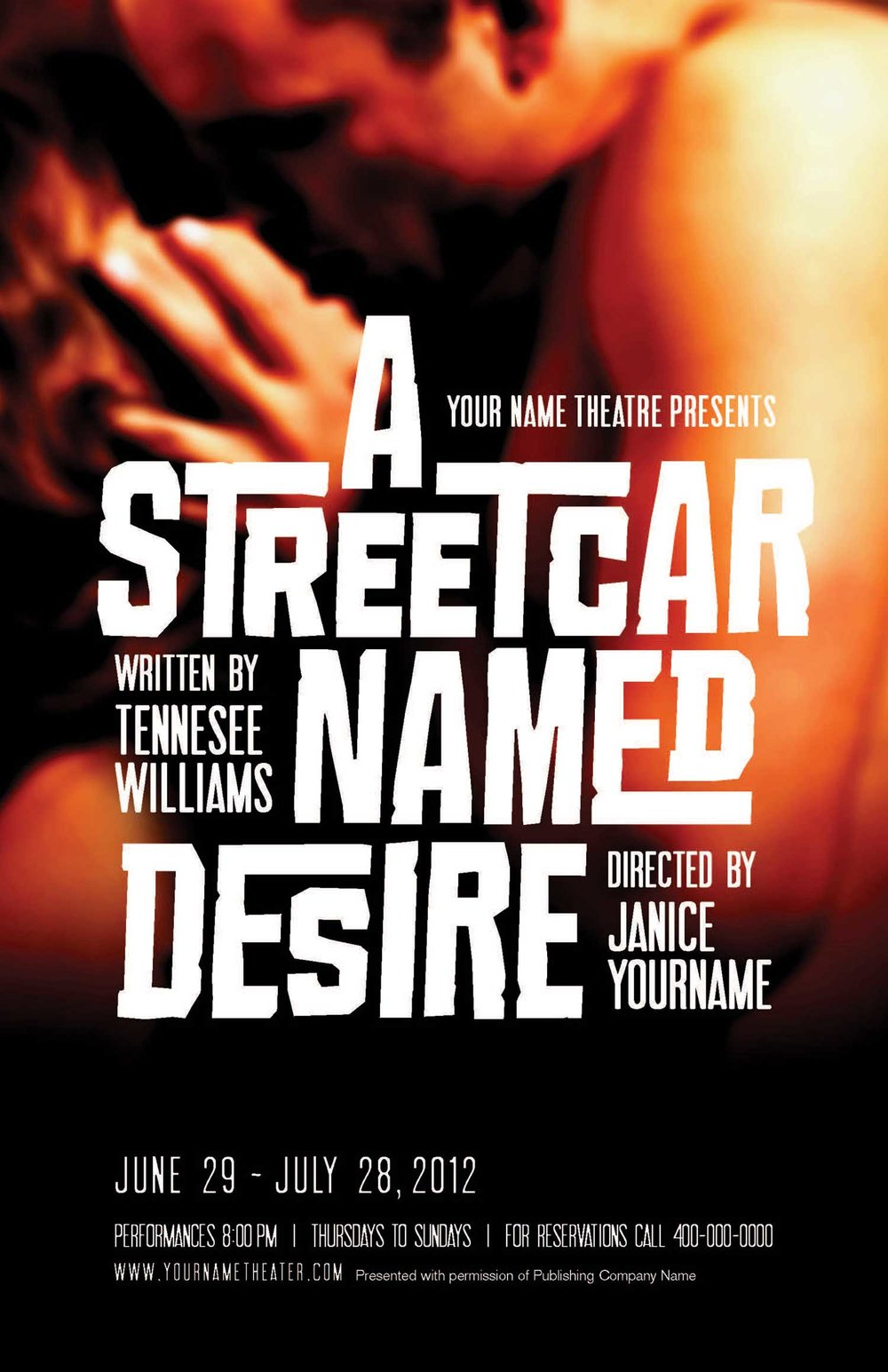 a streetcar named desire dramatic worksheet A streetcar named desire directed by elia kazan preparing for the film 1 what do you envision were the expectations of behavior for an upper-class female and male in the south around 1950.