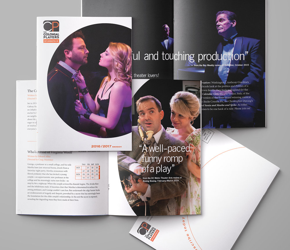 Theater Season Brochure