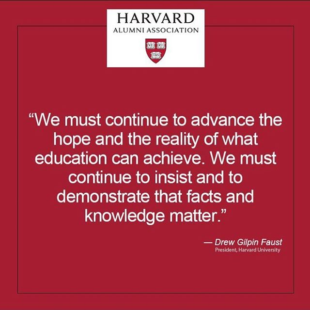📸:@harvardalumni #MyHarvard #ThroughEducation