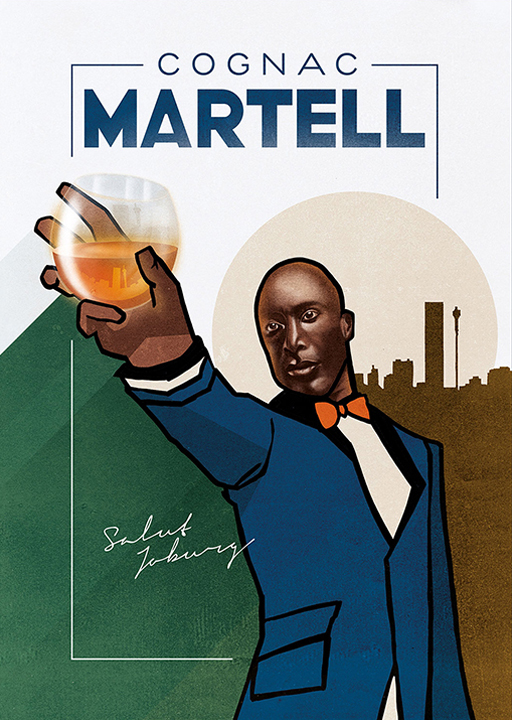 A celebration of the modern Johannesburg gentleman, driven for success and always immaculately dressed.  Illustrator: Jodia Steenkamp