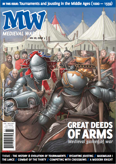 Medieval Warfare Magazine - Danièle is the centrefold this time with