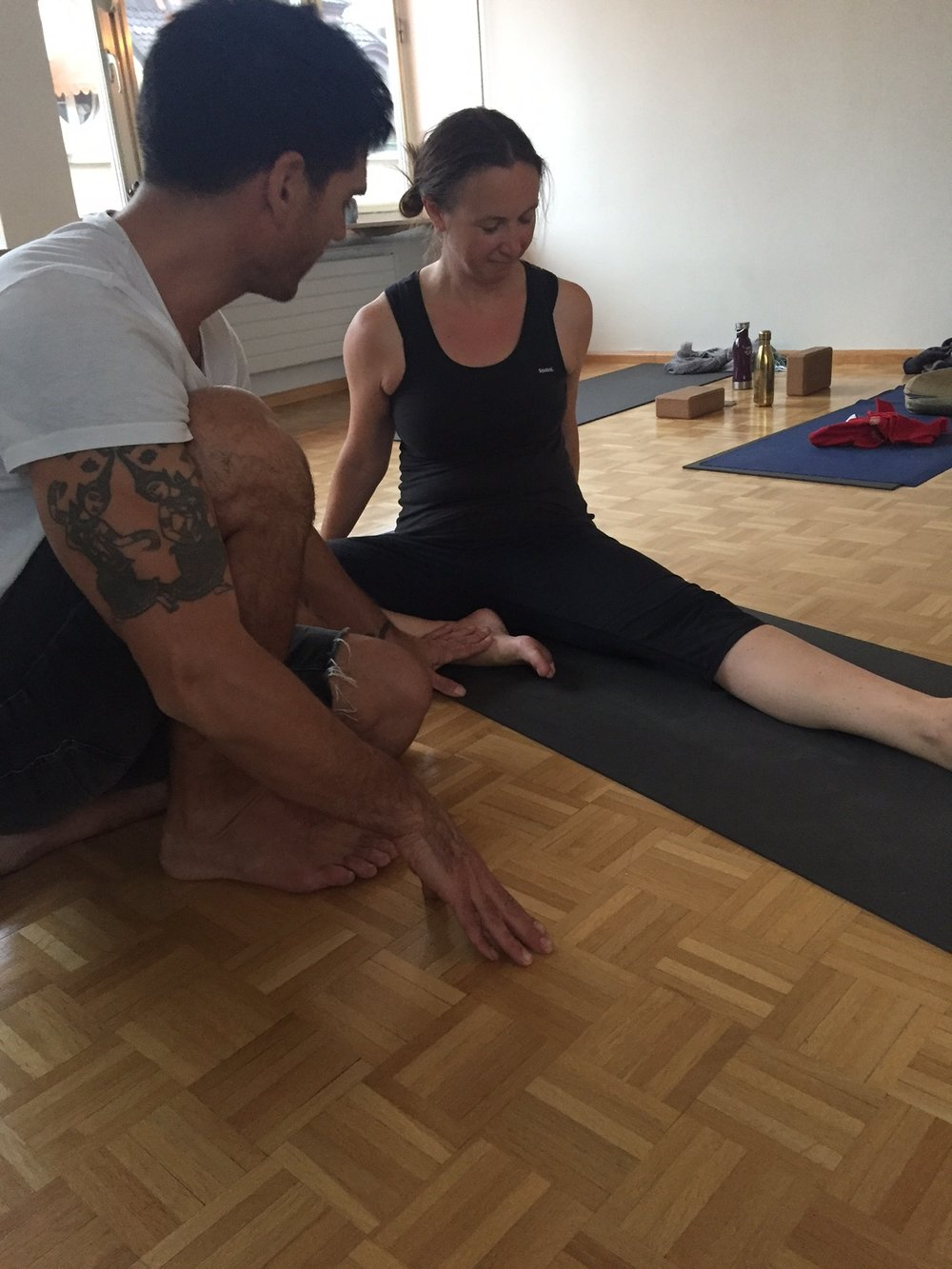 Yoga vinyasa krama training