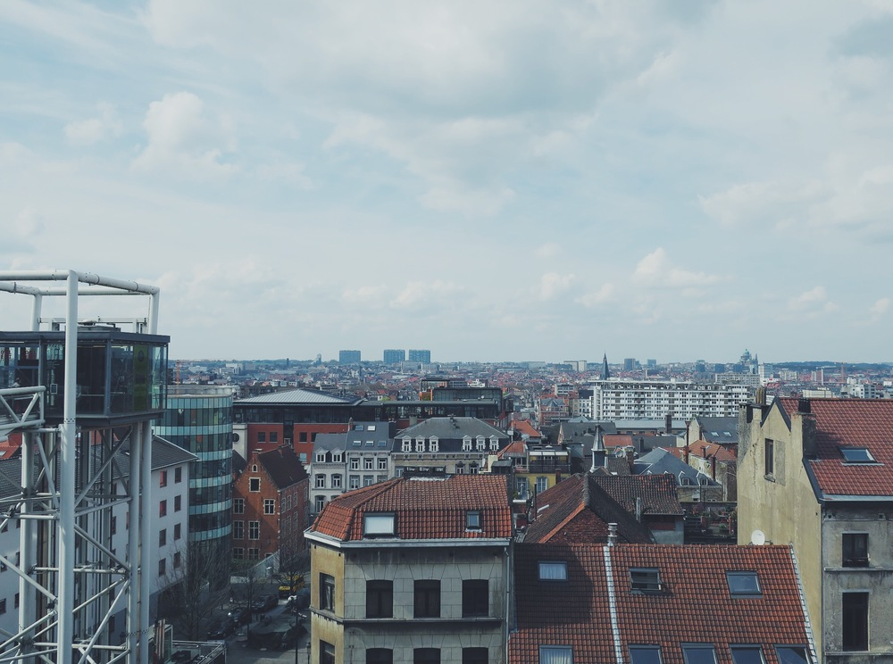 View from the Place Poelaert