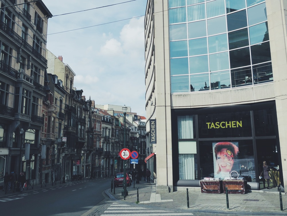 Taschen, Rue Lebeau 18