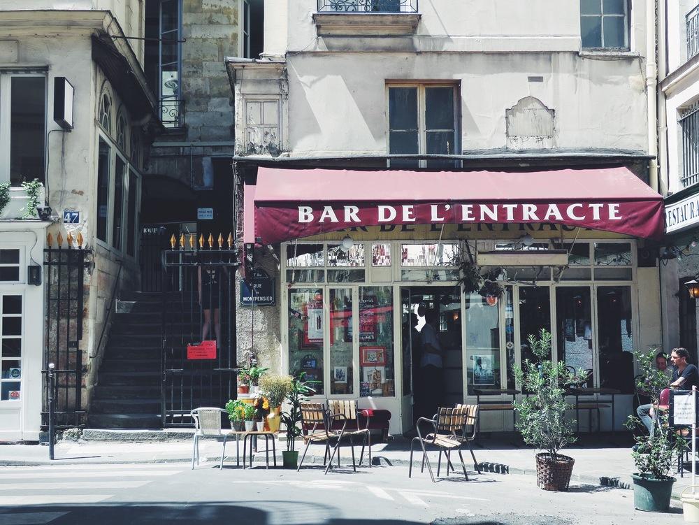 Bar de l'Entracte, Paris