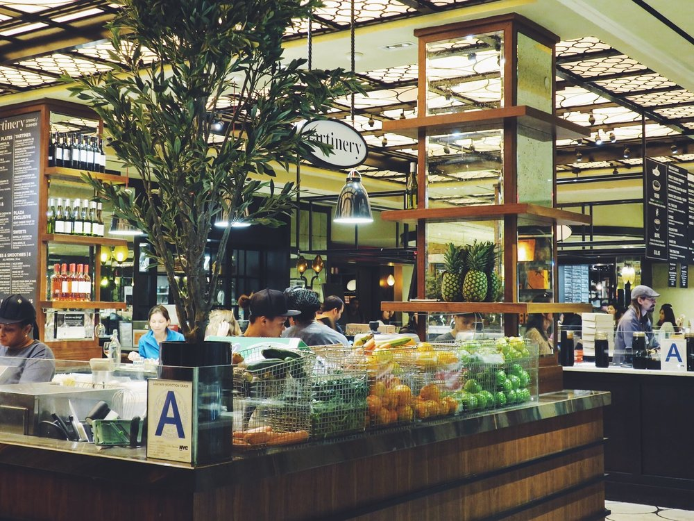 The Plaza Food Hall