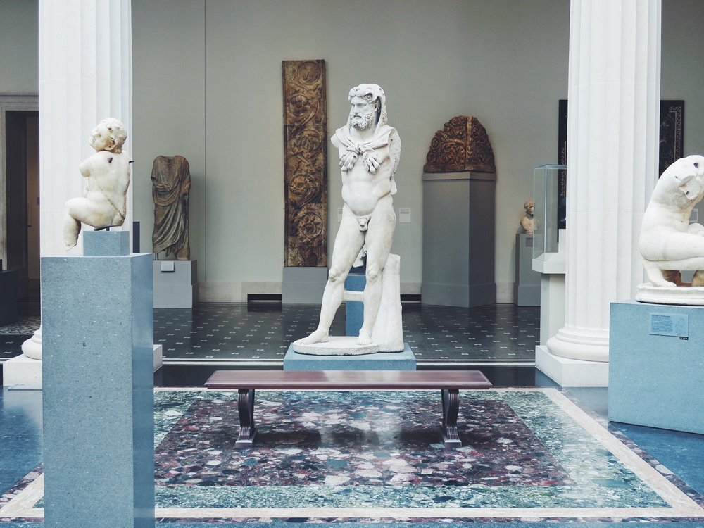 The Greek and Roman Art department at the Met