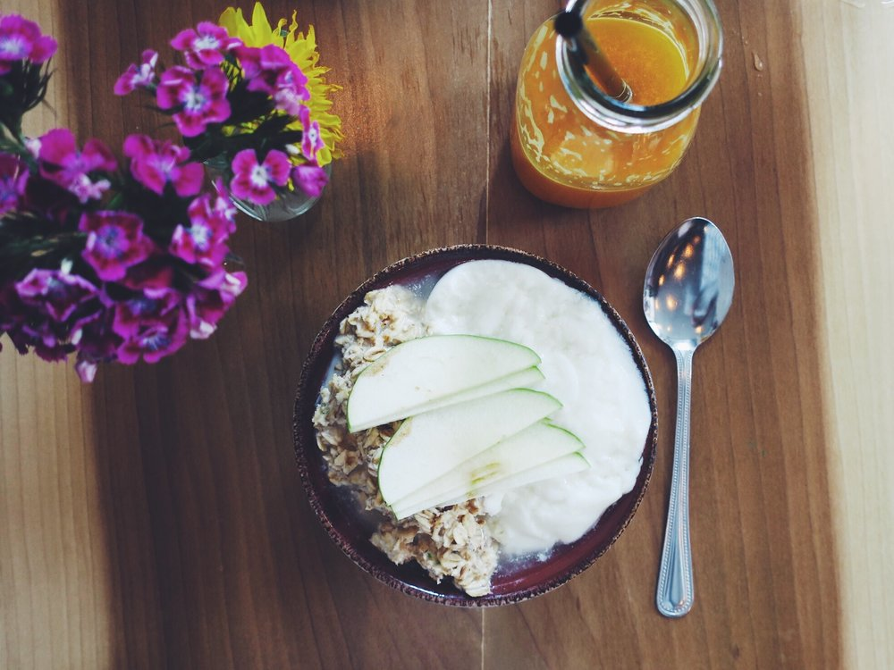 The 'Coconut Bircher' at Coco & Cru