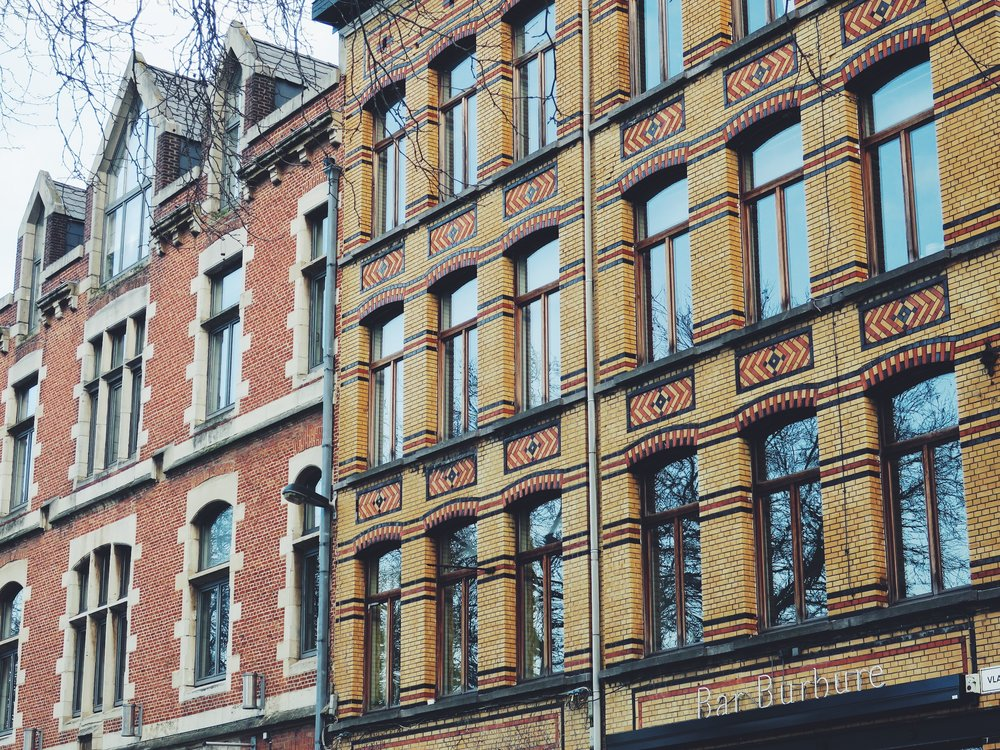 Facades on the Vlaamsekaai