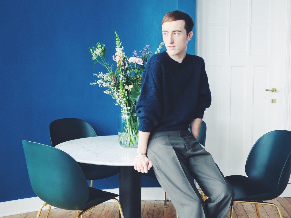 Zara sweater - Stephan Schneider trousers - Les Soeurs bracelet