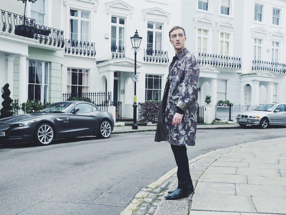 Dries Van Noten coat - Zara shirt - Zara trousers - Sacha ankle boots