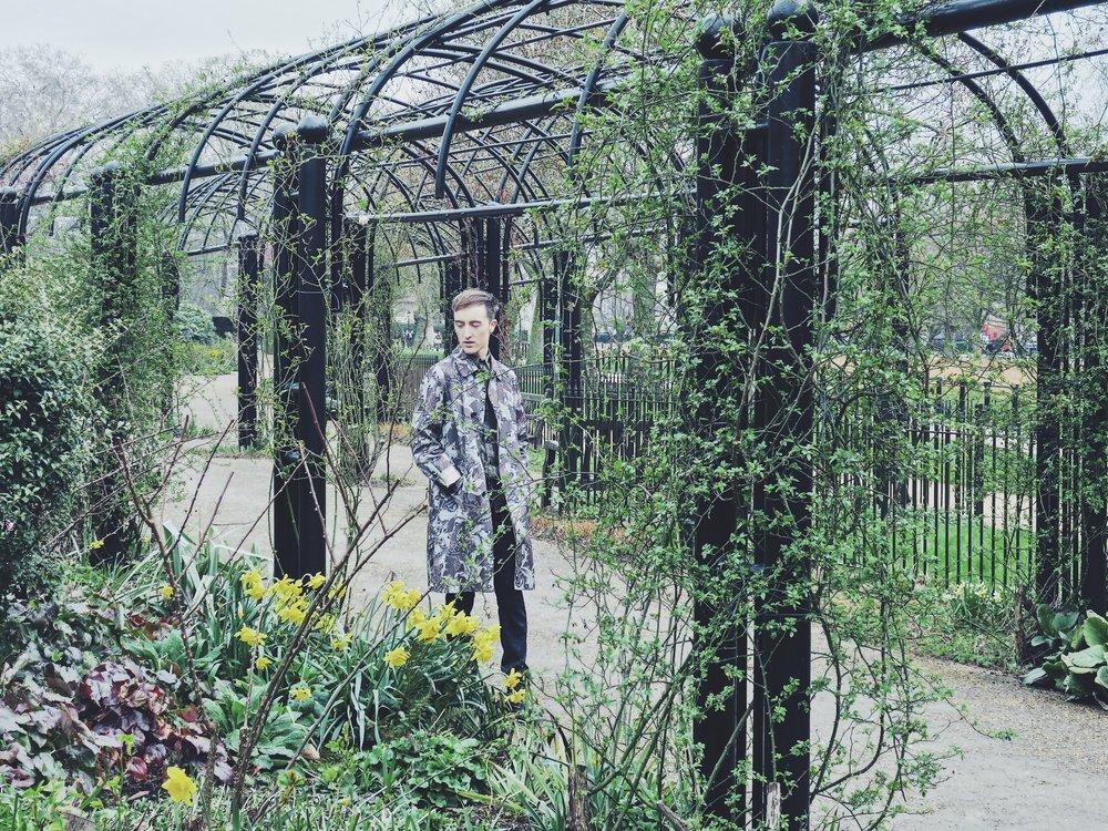 Dries Van Noten coat - Zara trousers