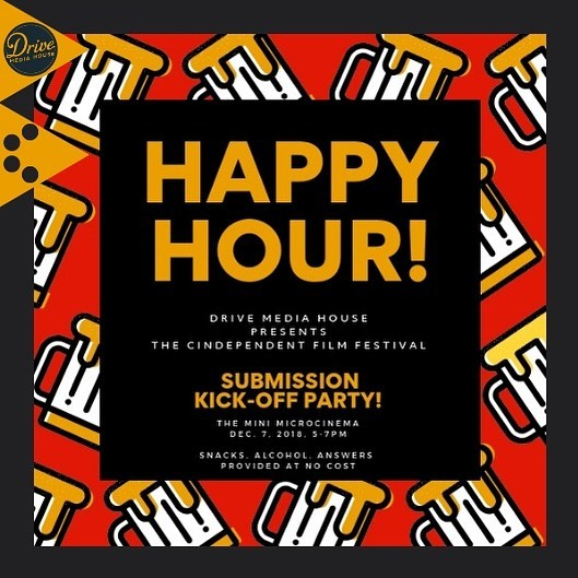 Pencil us in for this Friday when @drivemediahouse sponsors a kick-off party at @minimicrocinema to celebrate that we are Opening for Submissions December 7th. Beer and snacks provided at the happy hour, and we're ready to answer all your questions about submitting to the 2019 fest. Are you ready to #claimyourcindependence?