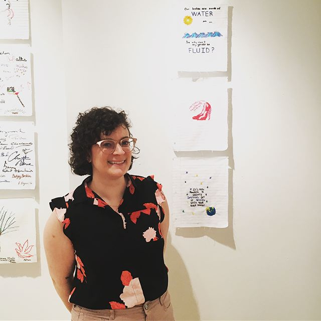 Yesterday we spent the day at the @artscouncilofprinceton for the opening of Interwoven Stories! 💖 Congratulations to @dianaweymar for such a beautiful project filled with such incredible connection and storytelling. We are so proud of @anniefasino, @knuckle_sando, and @postmodernpsyche whose work is on display in this show until June 23. Their work will travel all over the world as this project continues. Thank you Diana for having us! Check out some of the other amazing pages that were created 🌍🎨✨ #interwovenstories #needlecraft #communityconnections