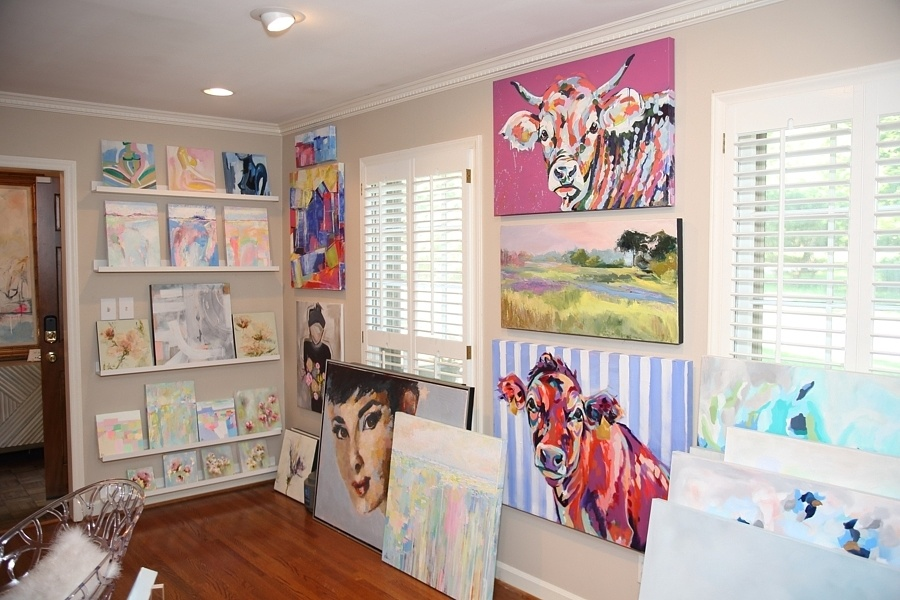 Art House Charlotte: Where art goes to find its forever owners - Michelle Boudin