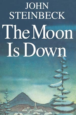 The Moon Is Down by John Steinbeck   This fictitious classic was secretly printed and illegally distributed across occupied Europe in the Second World War, accepted as resistance propaganda. The short novel speaks of an unnamed town (thought to be in Norway) that is claimed by a nation at war with England and Russia (thought to be Germany). I'd never read a book by Steinbeck before and I thoroughly enjoyed this one. It was short, clever and effective.  Recommend?  Yes