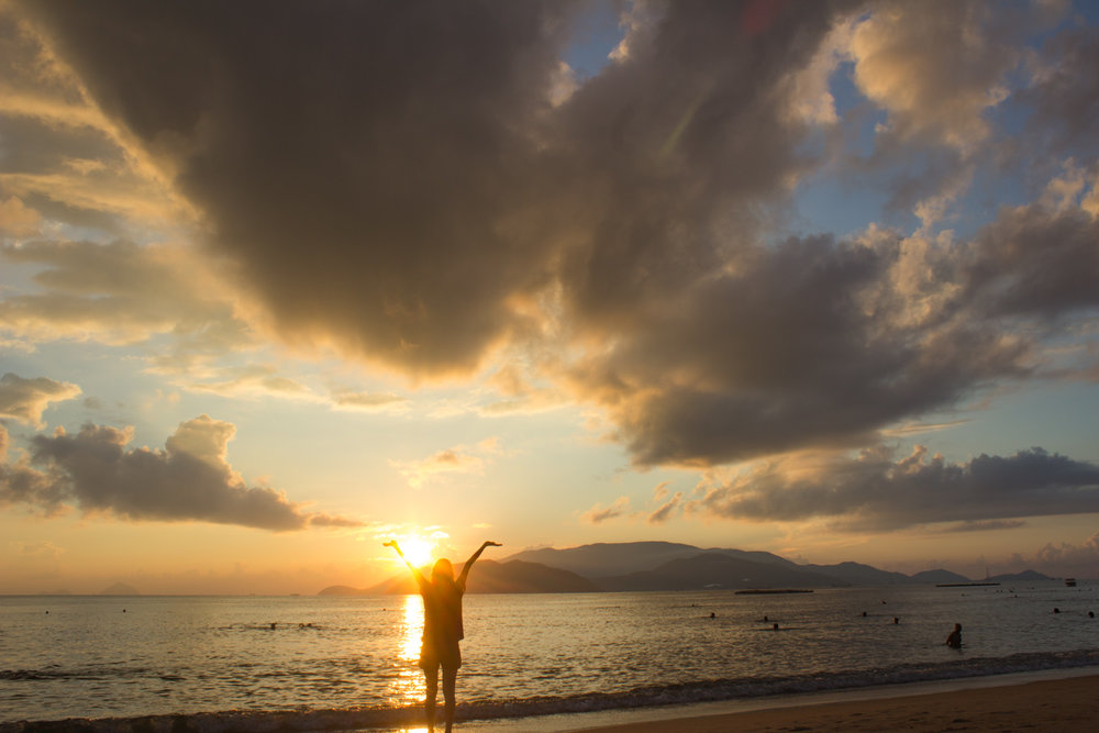 Wake up to watch the sun rise • Nha Trang, Vietnam •