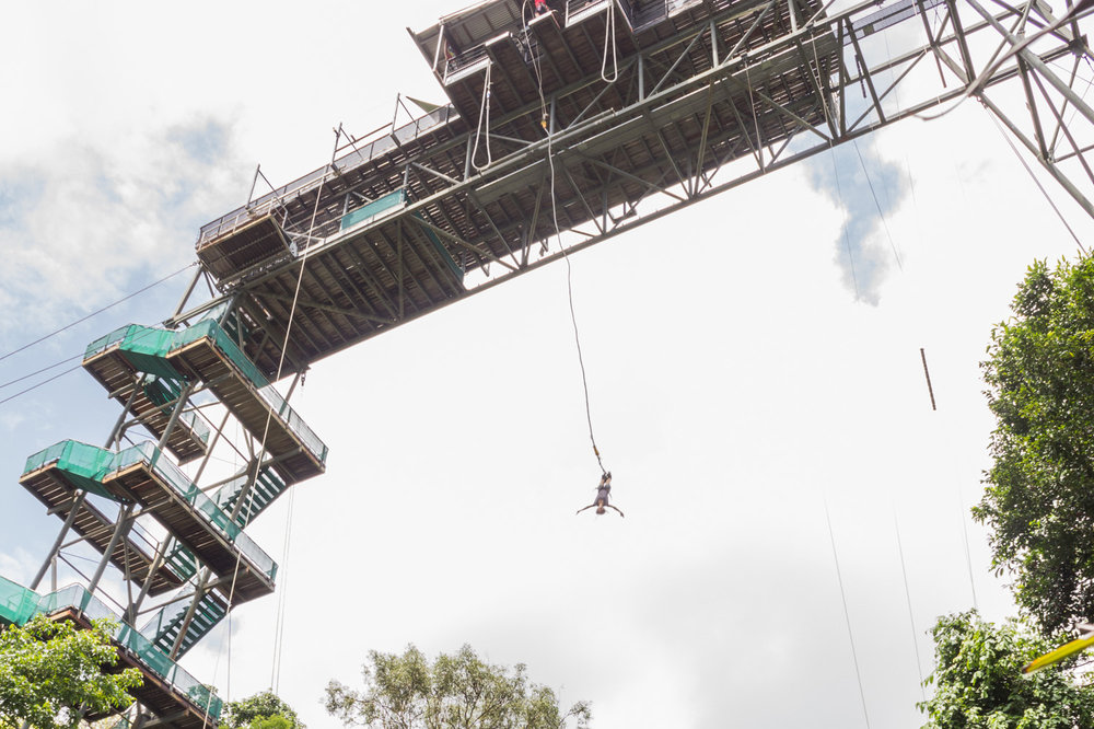 Bungy jump • Cairns, Queensland, Australia •
