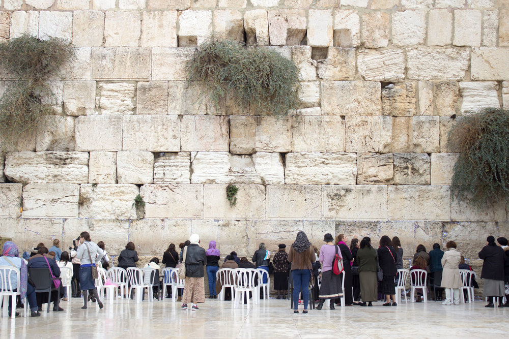 See the Wailing Wall • Jerusalem, Israel •