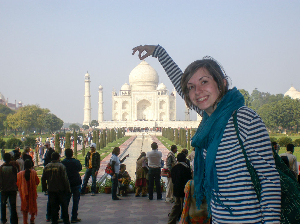 Visit the Taj Mahal • Agra, India •