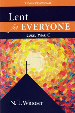 Lent For Everyone by N.T. Wright   N.T. Wright is a British theologian and the former Bishop of Durham, treasured for his scholarly contribution today. He has written three Lenten devotionals to guide through daily thoughts on Gospel scriptures (themed by Matthew, Mark and Luke). Within Lent I often feel convicted as a Christian for neglecting the discipline of anticipation (a huge part of the Christian calendar) and found this book to be a great provocation to remember and celebrate Easter well.   Recommend?  Yes