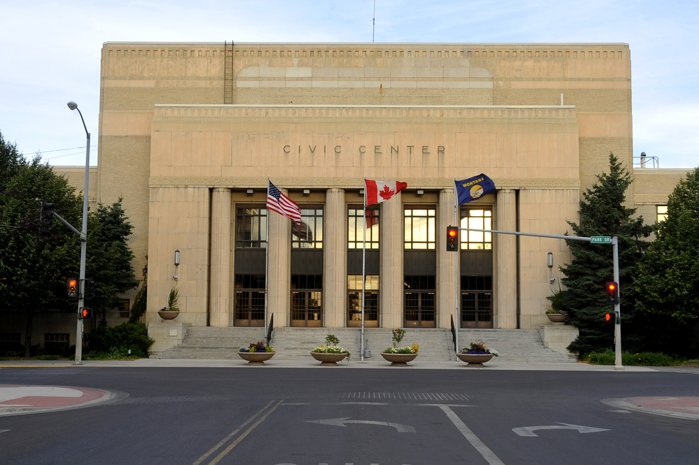 The conference will be held at the historic Civic Center, located downtown.